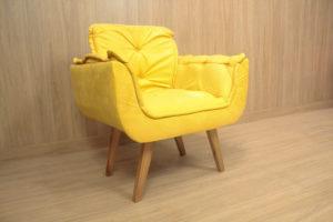Poltrona Amarela - Modelo Rebeca